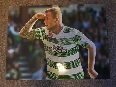 Signed John Guidetti Celtic Photo Charity Auction Sweden
