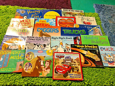 Childrens Reading Bedtime-Story Time Kids Paperback Assorted Books Lot of  20