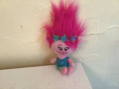 Trolls plush stuffed talking doll 14""