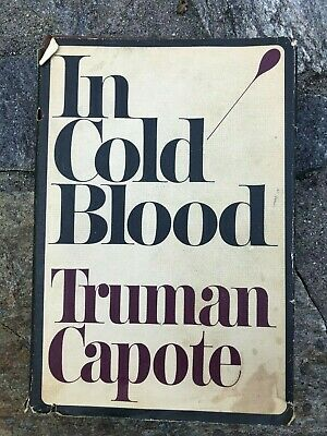 In Cold Blood by Truman Capote FIRST EDITION