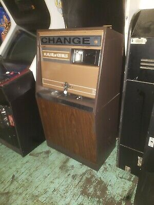 ROWE BC-35 BILL CHANGER UPDATEDWITH MARS BILL HEAD  Shipping Available