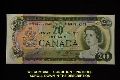 1969 Bank Of Canada Replacement 20 Dollars Bank Note *Wn