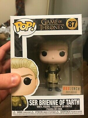 Funko Pop Ser Brienne of Tarth Game of Thrones Box Lunch Exclusive