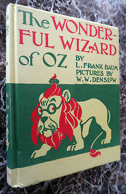 The Wonderful Wizard of Oz,and MAP~Facsimile of 1900 First Edition~ L.Frank Baum