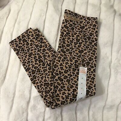 NWT $12.99 Jumping Beans Girls Size 4 Cheetah Print Leggings