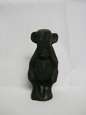 Africa. Monkey. Old Wooden  Figure. Statue. Hand Carved.