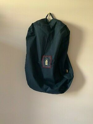 100% Authentic Zilli Small Zippering Garment Travel Bag, New, Made In Italy