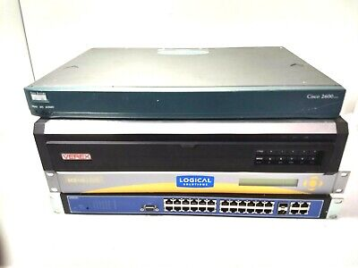 4 PC Bundle Network Video Surveillance Equipment, Gear Rackmount ~ Enterprise