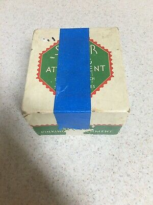 Vintage Singer Sewing Machine Pinking Attachment In Box