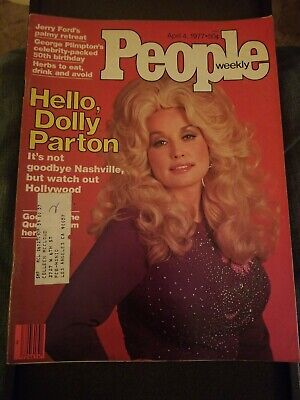 People Magazine Dolly Parton Issue April 1977