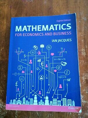 Mathematics for Economics and Business 8th Edition by Ian Jacques