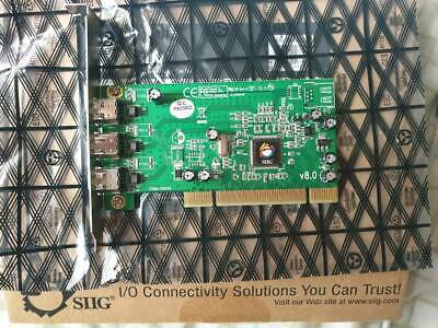 FireWire PCI cards - SIIG & generic   4-6pin cable