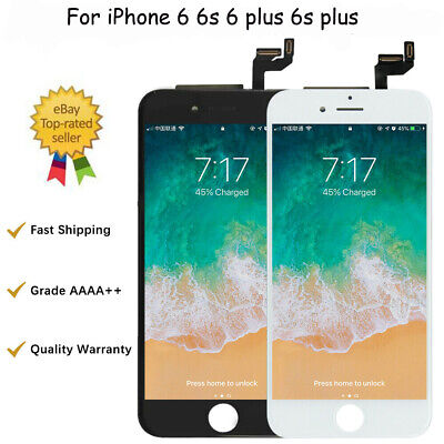 For iPhone 6 6S Plus LCD Digitizer Touch Screen Replacement With Button & Camera