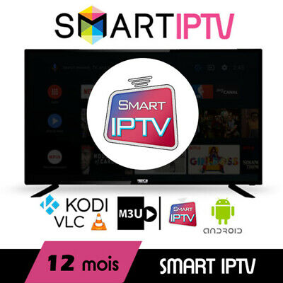 Abonnement IPTV 12 mois FHD/HD Smart IPTV / MAG / BOX / Android / iOS / VLC Test