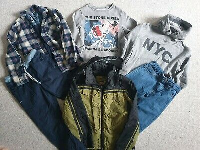 Boys Next Jeans/ Jacket/ Jumpers Bundle Size 7-8 Years