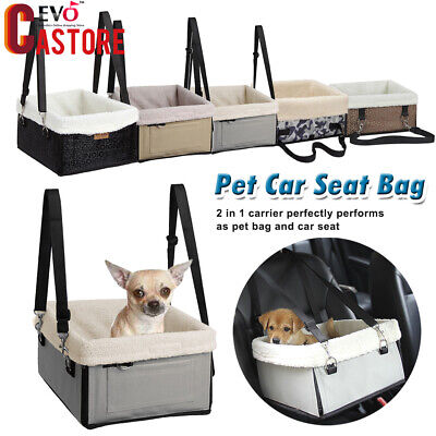 Pet Dog Cat Car Seat Safety Puppy Carrier Basket Travel Gear Booster Bed Bag Hot