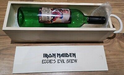 Iron Maiden Eddie's Evil Brew 2018 Shiraz Wine Legacy Beast Limited Edn Boxed