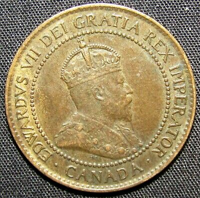 1902 Canada 1 Cent Coin