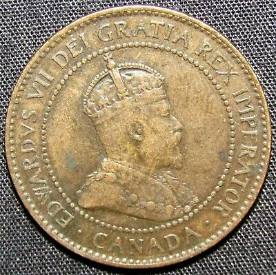 1904 Canada 1 Cent Coin