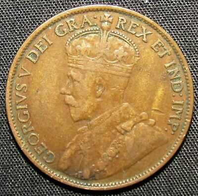 1912 Canada 1 Cent Coin