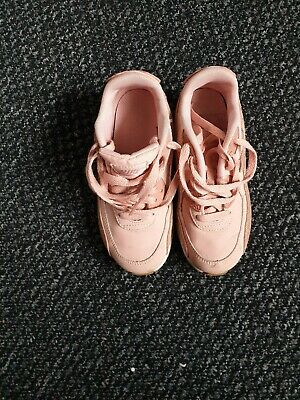 Girls nike air max trainers size 13 Gorgeous Dusky Pink