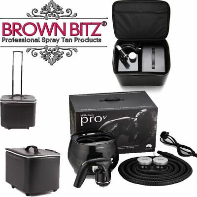 spray tan machine Pro V professional and carry case by Tanning essentials