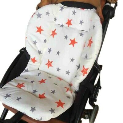 Baby Stroller Pram Seat Cushion Pad Liner Support Pillow Cotton Comfortable Mat