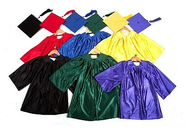 Children/'s Graduation Gown Accessories Hat//Cap Matt with tassels 3-6 year olds