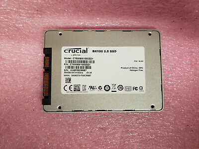"Crucial BX100 500GB Internal 2.5"" CT500BX100SSD1 SSD  Solid State Drive"