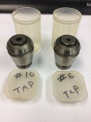 New Emco Maier Er25 #10 And #6 Floating Tap Holders