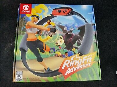 Ring Fit Adventure -- Standard Edition (Nintendo Switch, 2019) SEALED