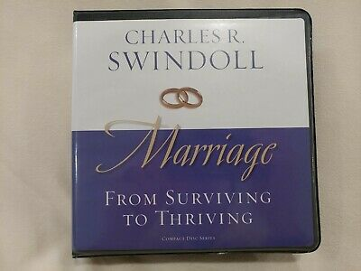 Marriage From Surviving to Thriving 8 CD Set Charles R Swindoll Insight Living