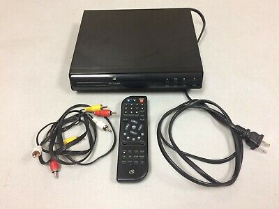 GPX D200B DVD Player with Remote Control
