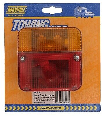 Rear Lamp - Square - Combination 003 MAYPOLE