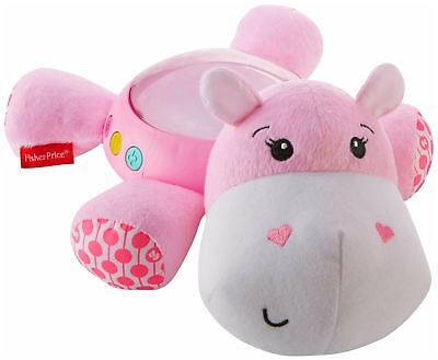 Fisher Price FISHER-PRICE HIPPO PLUSH PROJECTION SOOTHER PINK Soft Toy BNIP