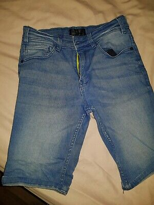 Boys Next Denim Shorts Blue Age 11