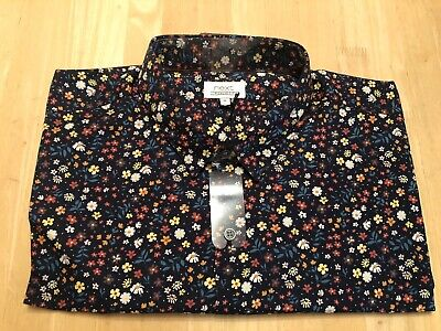 BRAND NEW WITH TAGS Mens Next Floral Shirt