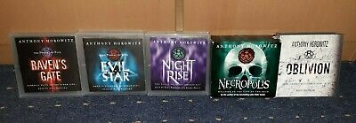 Anthony horowitz the power of five,complete Audio Cd Book Collection.