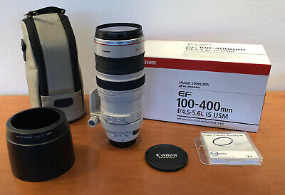 Canon EF 100-400mm f/4.5-5.6L IS USM, OVP