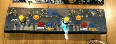 TIME SOLDIERS - 1987 Romstar  W ROTARY JOYSTICKS JAMMA  ARCADE GAME PCB Marquee
