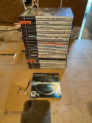 Collection Of Playstation 2 Games