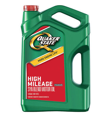 Quaker State High Mileage (10-40) [5-qt. Jug] 550044934