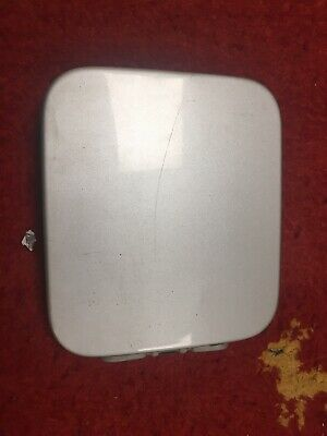 Used 2003 Suzuki Jimny Fuel Filler Door Metallic Silver (Damaged)