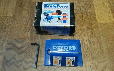 Oxford Brute Force Ground Wall Anchor For Motorbike,Quad Bike Security Etc