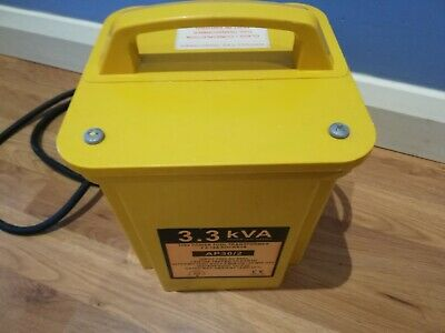 Electrowind 3.3Kva 110V Work Site Construction Power Transformer 2 X 16A Outlets