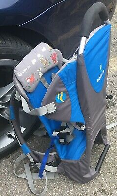 Little Life Ranger Child Carrier Blue and Black outdoor backpack RRP £69 WOW!