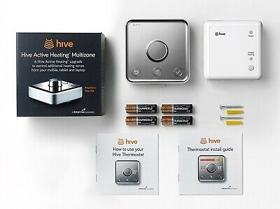 Hive Heating & Hot Water Thermostat & Receiver Box Additional Extra Multi Zone