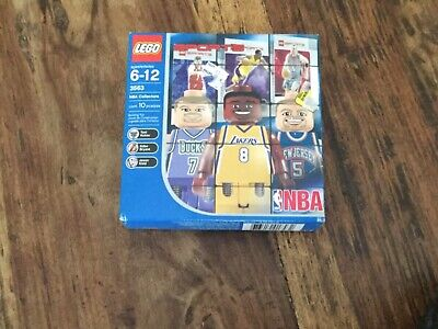 2003 Kobe Bryant Sealed Nba Lego Set 3563,With Sealed Cards.. Lakers Home Jersey