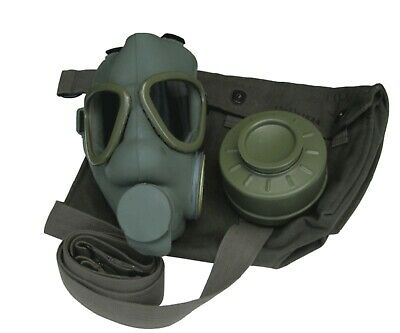 Serbian Military Gas Mask With Filter And Bag Usa Seller