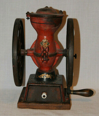Antique ENTERPRISE PHILADELPHIA Coffee Grinder No. #2 Mill